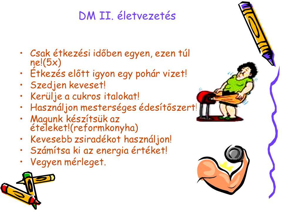 diarrhoea •folyadék és só pótlása( első nap rehidráló folyadék, 1 liter vízhez egy teádkanál só, 8 teáskanálcukor, 1 liter/2ó •2.