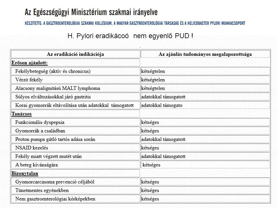 24 H. Pylori eradikácoó nem egyenlő PUD !