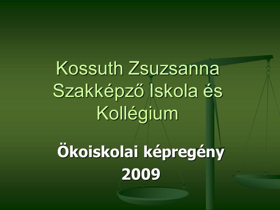Kossuth Zsuzsanna Szakképző Iskola és Kollégium Ökoiskolai képregény 2009