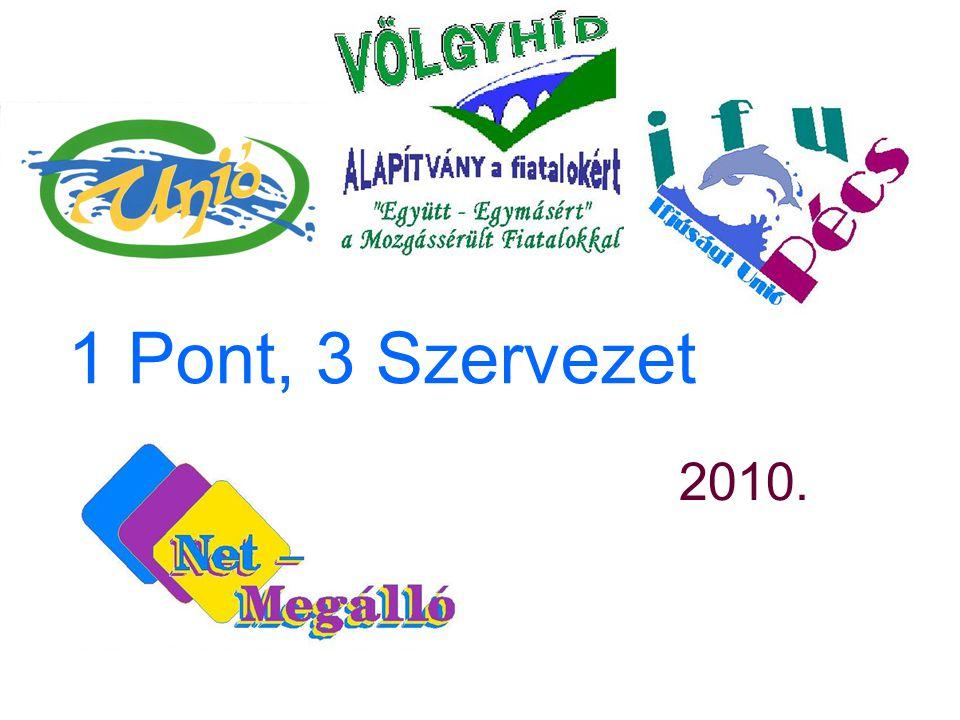 1 Pont, 3 Szervezet 2010.
