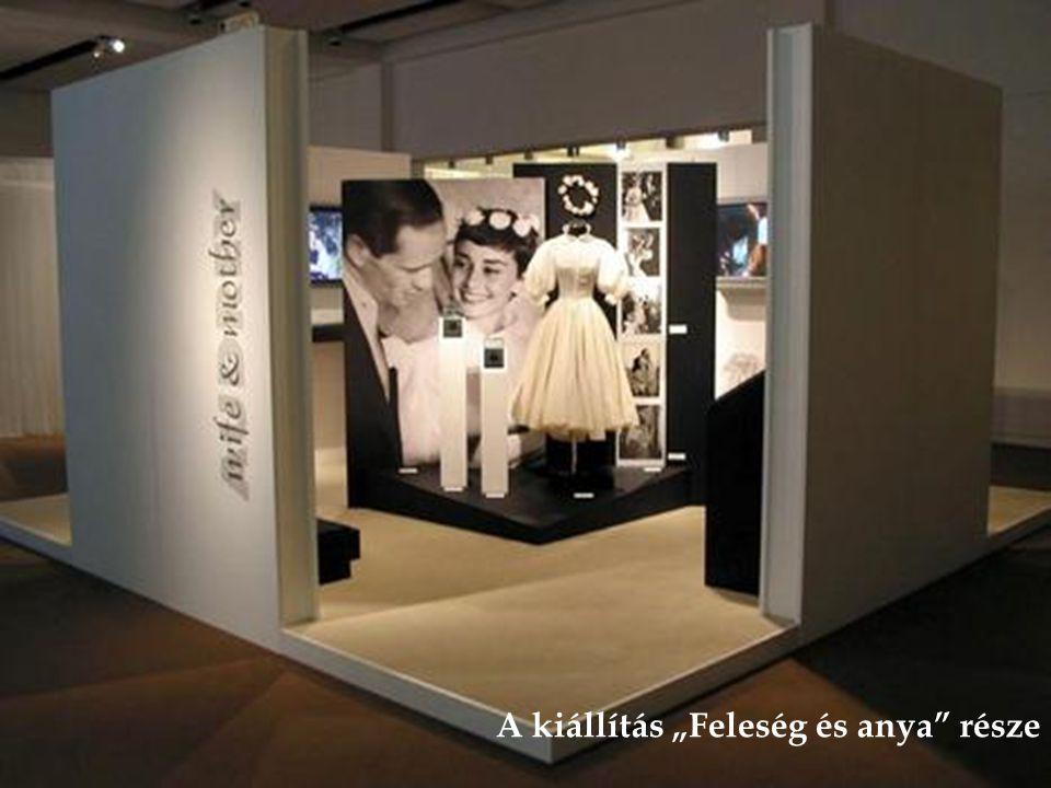 A kiállításon a színésznő személyes levelei is láthatók