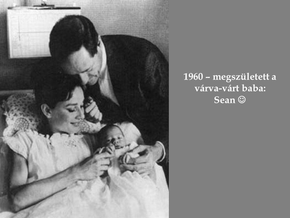 """Mel Ferrerrel (""""Andrej herceggel ) 1954-ben házasodtak össze"""