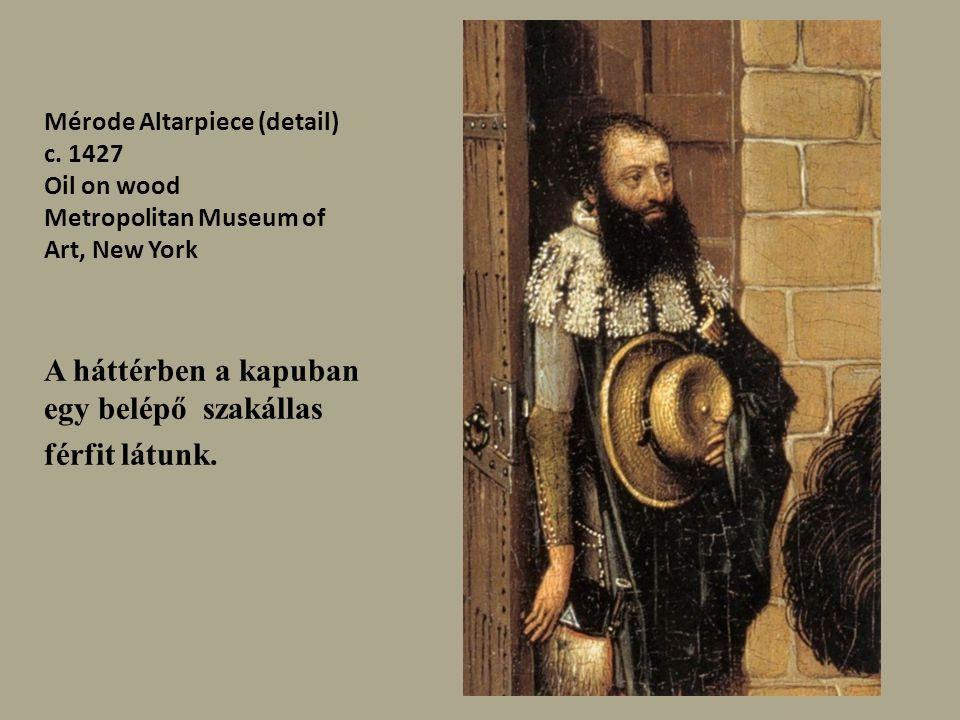 Mérode Altarpiece (detail) c.