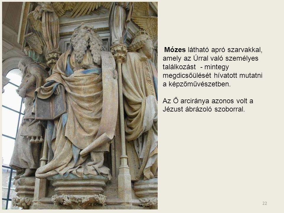 21 MÓZES DÁVID JEREMIÁS ZAKARIÁS DÁNIEL ISAIAH JÉZUS KERESZTEN A próféták elhelyezése az alapterületen: