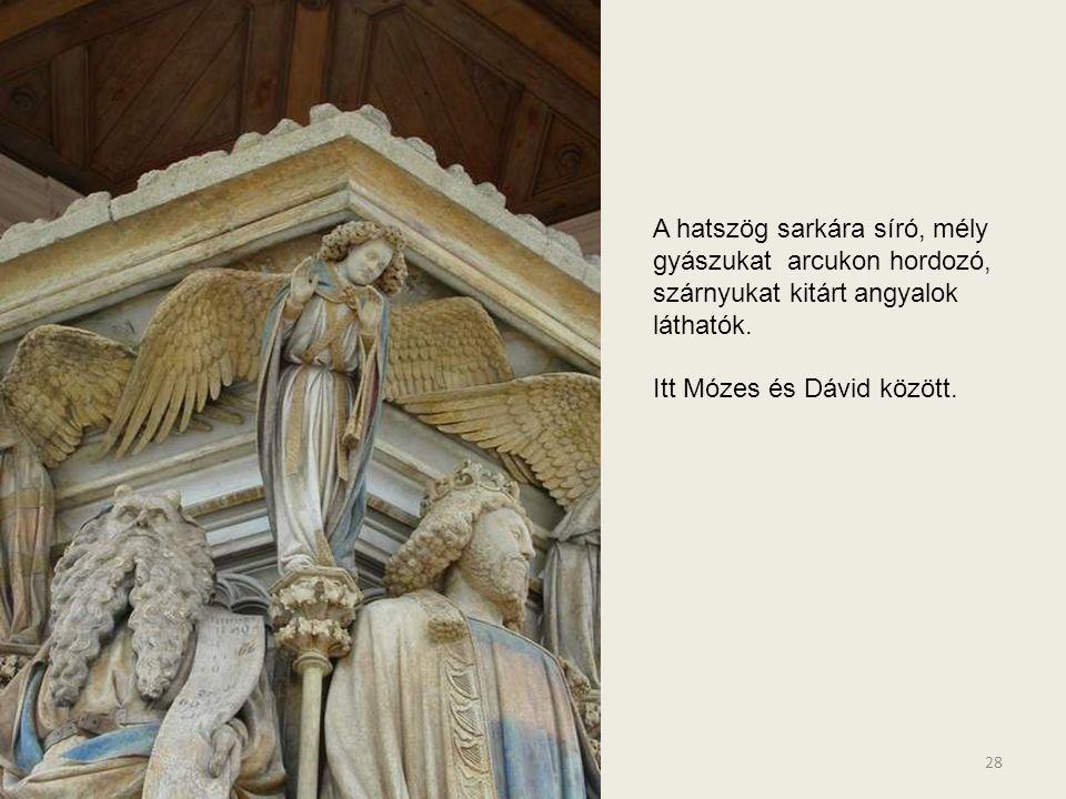 Isaias lehajló szomorú tekintete tovább mélyíti az Őt szemlélő együtt érző fájdalmát. 27