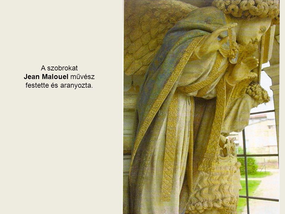 Könnyeit törölgető angyal Zakariás és Daniel között 31