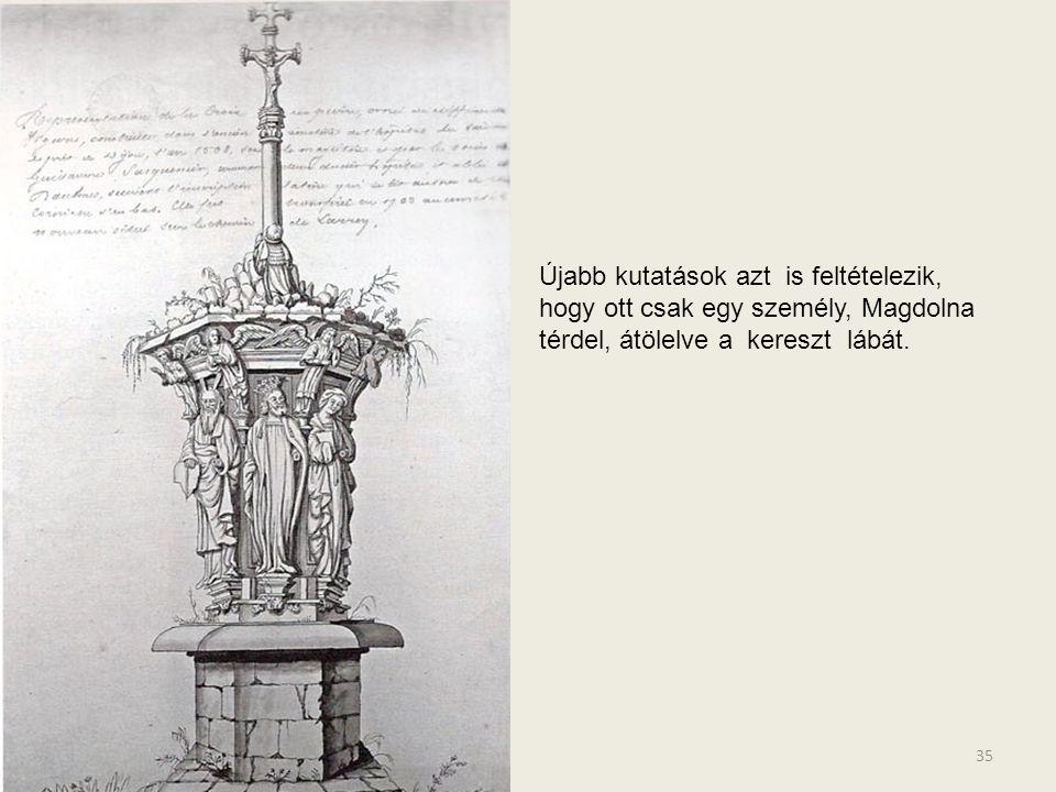 34 E képeken azokat az alkotásokat láthatjuk, melyek segítenek magunk elé idézni az eredeti Mózes kutat. A folyamatban lévő munkát a maga korában szok
