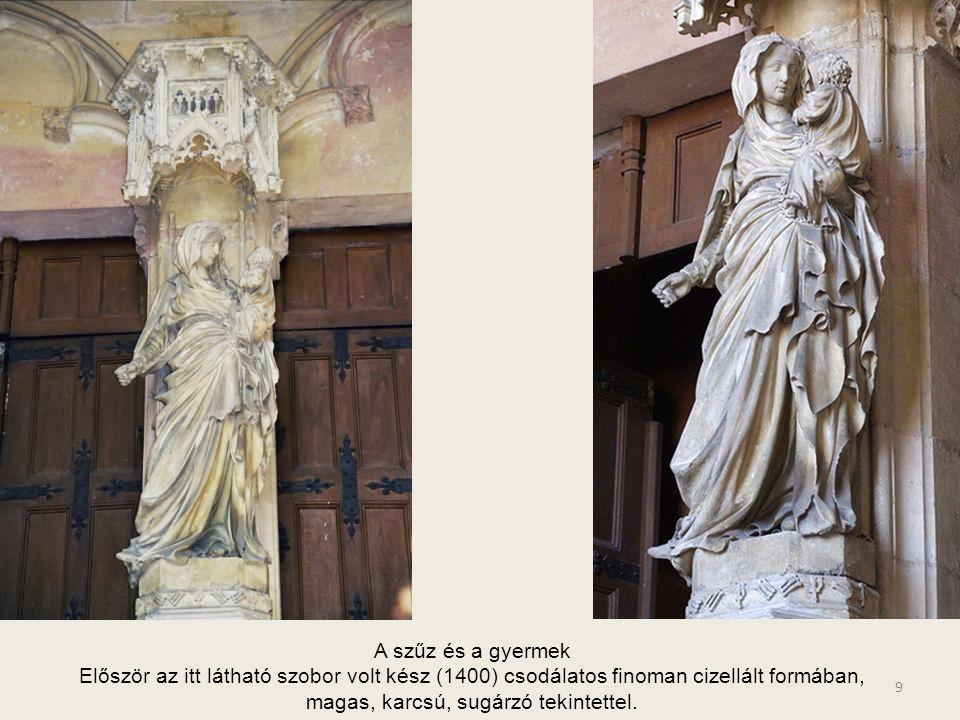 8 Kolostor főbejárata, - Philip the Bold Emlékműve - triptihon Eredetileg: Jean de Marville-t bízta meg a munkálatokkal, de annak halála után Claus Sl