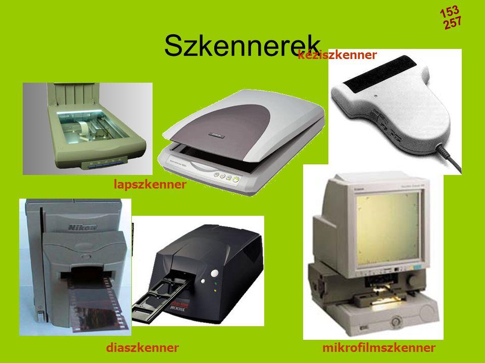 Szkennerek diaszkennermikrofilmszkenner lapszkenner kéziszkenner 153 257