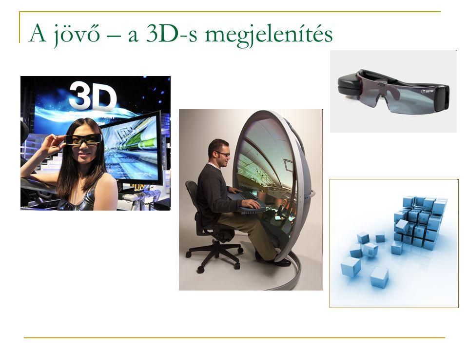 A jövő – a 3D-s megjelenítés