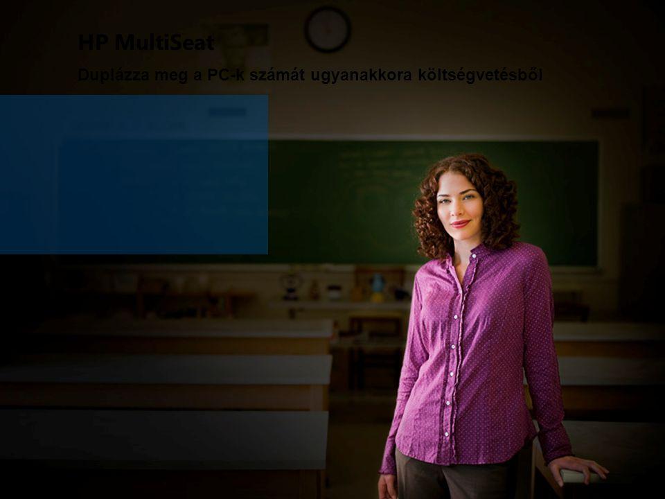 HP MultiSeat Duplázza meg a PC-k számát ugyanakkora költségvetésből