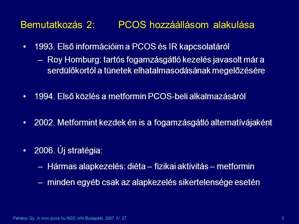 Petrányi Gy.A www.pcos.hu NGO info Budapest, 2007.