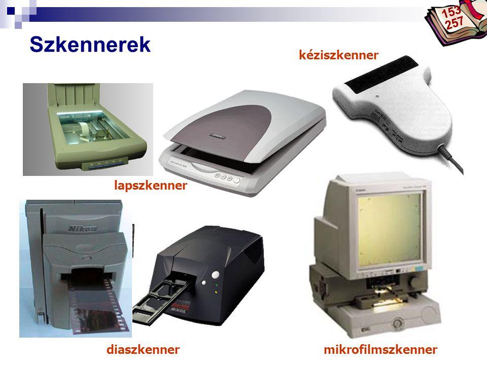 Bóta Laca Szkennerek diaszkennermikrofilmszkenner lapszkenner kéziszkenner 153 257