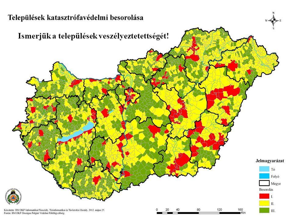 Ismerjük a települések veszélyeztetettségét!