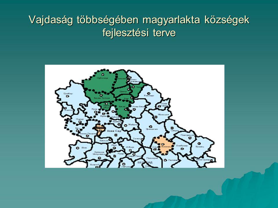 Vajdaság többségében magyarlakta községek fejlesztési terve
