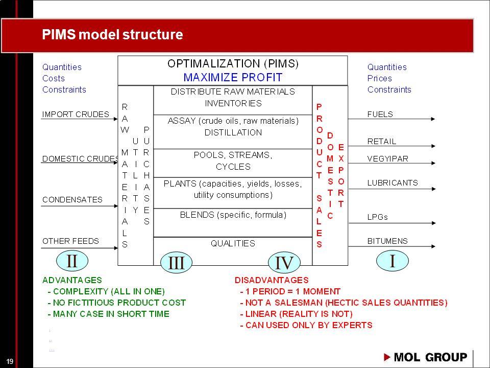 18 BLENDING SECTION PROCESS UNITS LPG MOG JET DSL F/O CRD INT BUT I.
