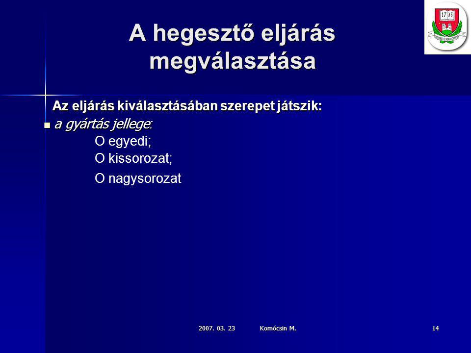2007.03. 23 Komócsin M.