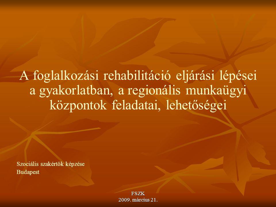 FSZK 2009.március 21. Az együttműködési kötelezettség megszűnése, megszűntetése IV.
