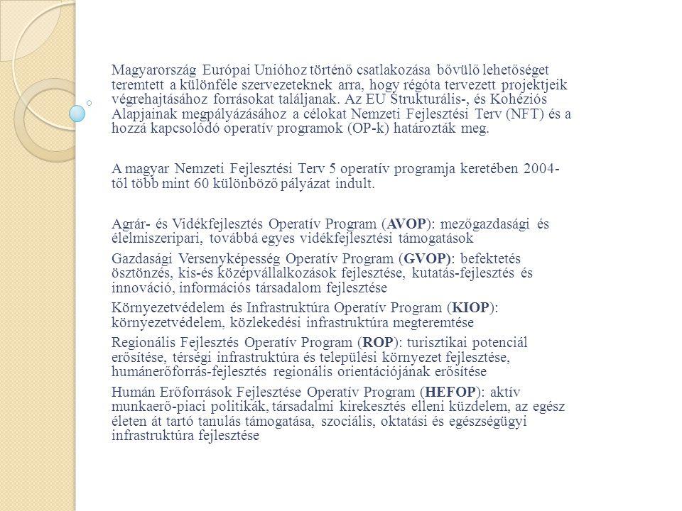 A TÁMOP 1.1.2 program tervezett országos eredménye 2009.