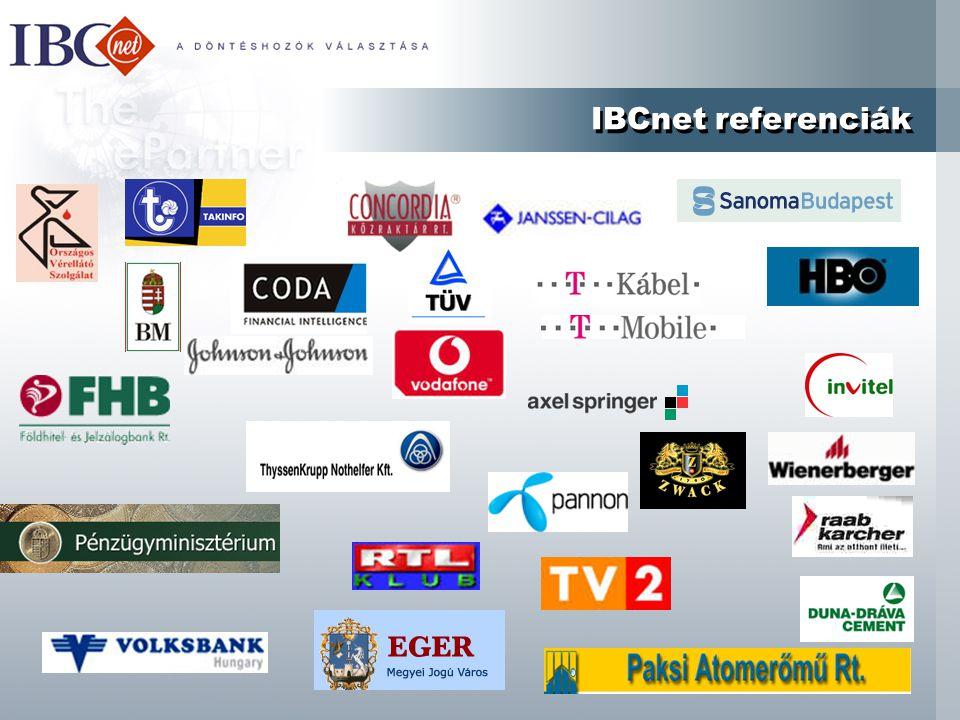 IBCnet referenciák
