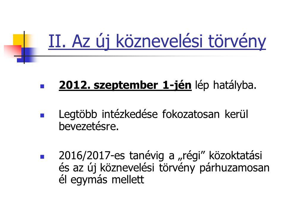 Nevelési-oktatási intézményrendszer Óvoda 3 éves kortól kötelező.