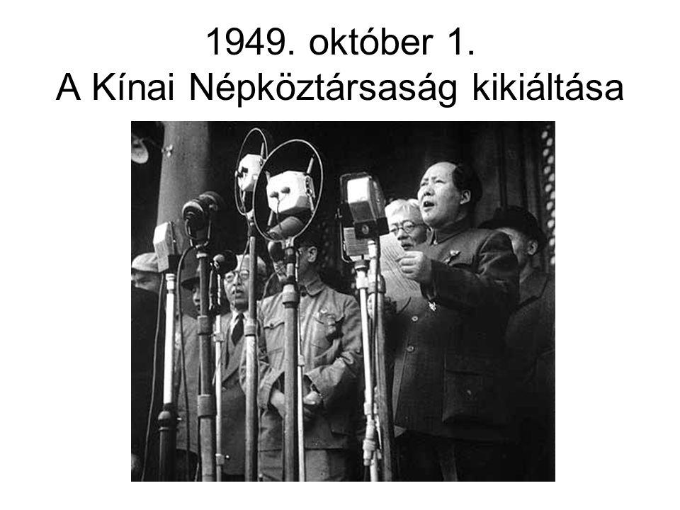Az első évek •1949.szept. 21.