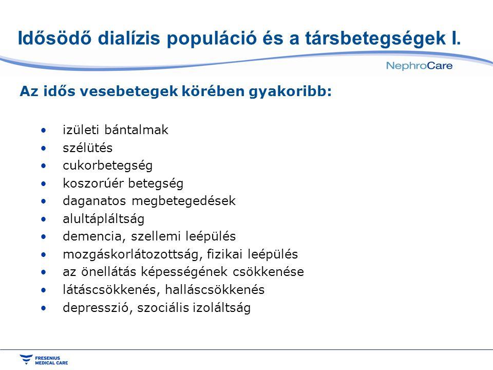 Idősödő dialízis populáció és a társbetegségek II.