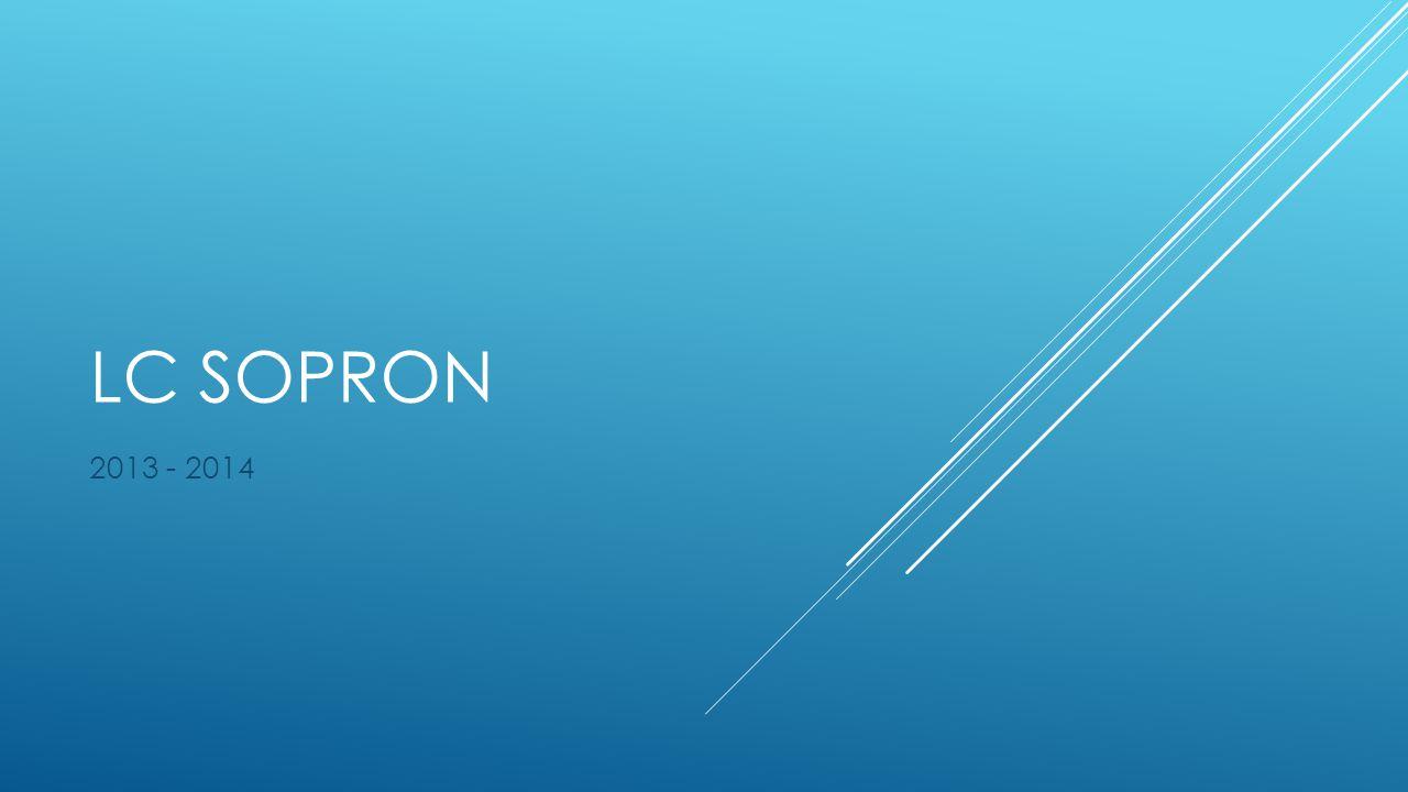 LC SOPRON 2013 - 2014