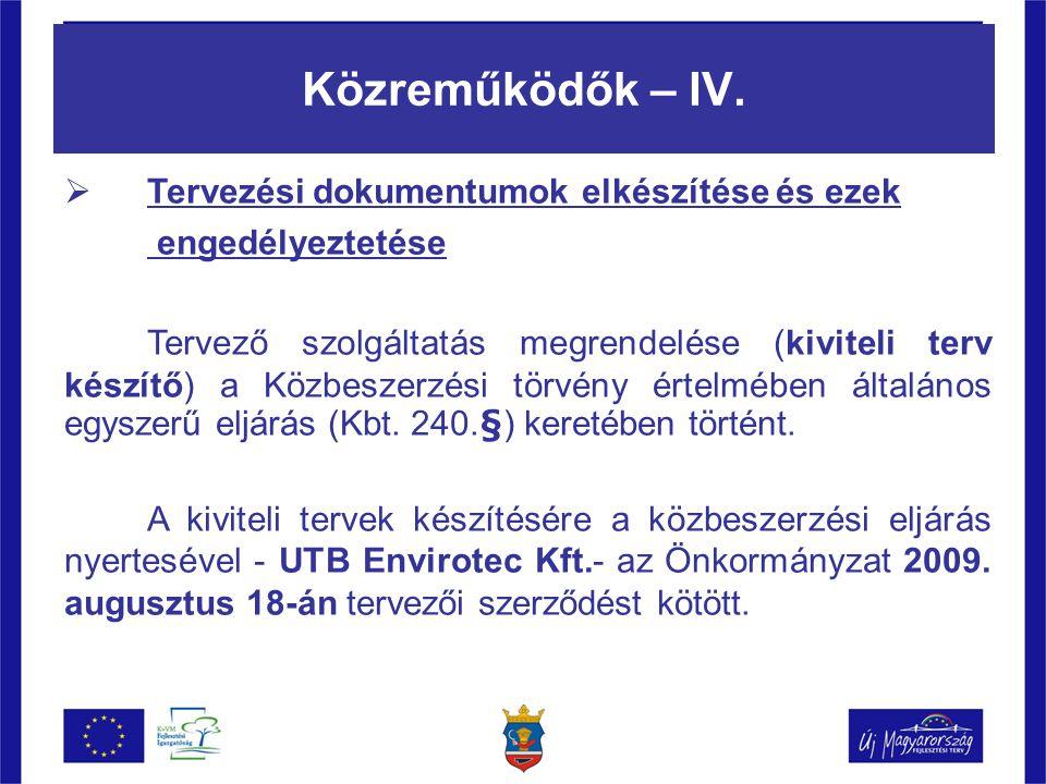 Közreműködők – IV.