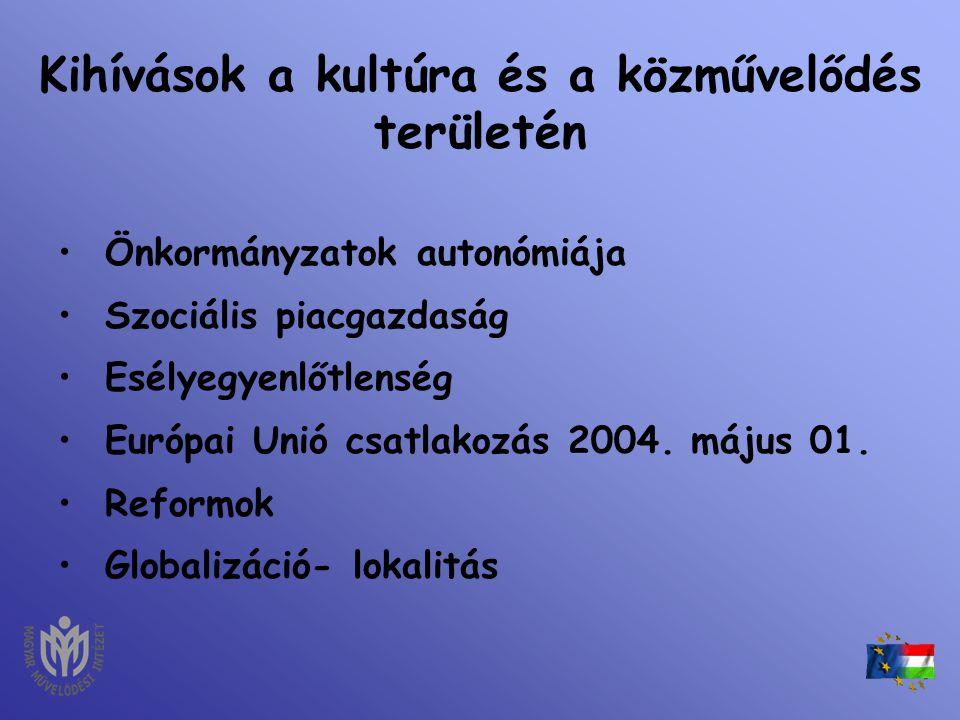 A vidékfejlesztés a kultúra és a közművelődés összefüggései - egységes szemlélet a magyar vidék felzárkóztatásáért – Tisza Gabriella Magyar Művelődési