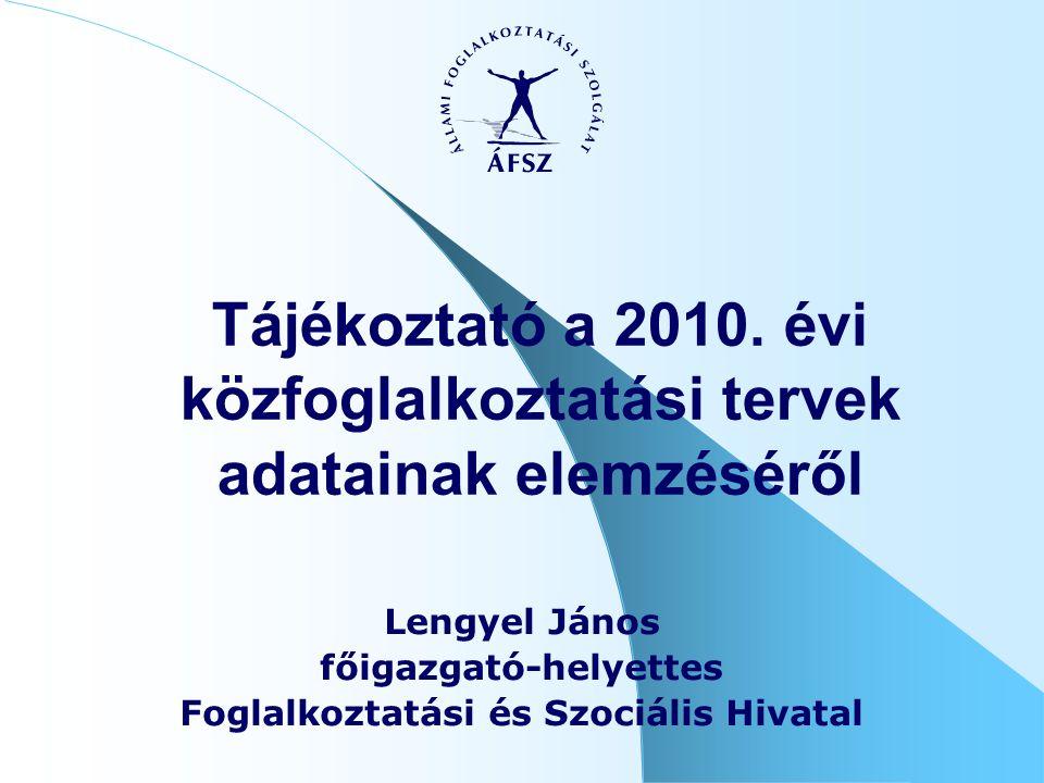 Tájékoztató a 2010.
