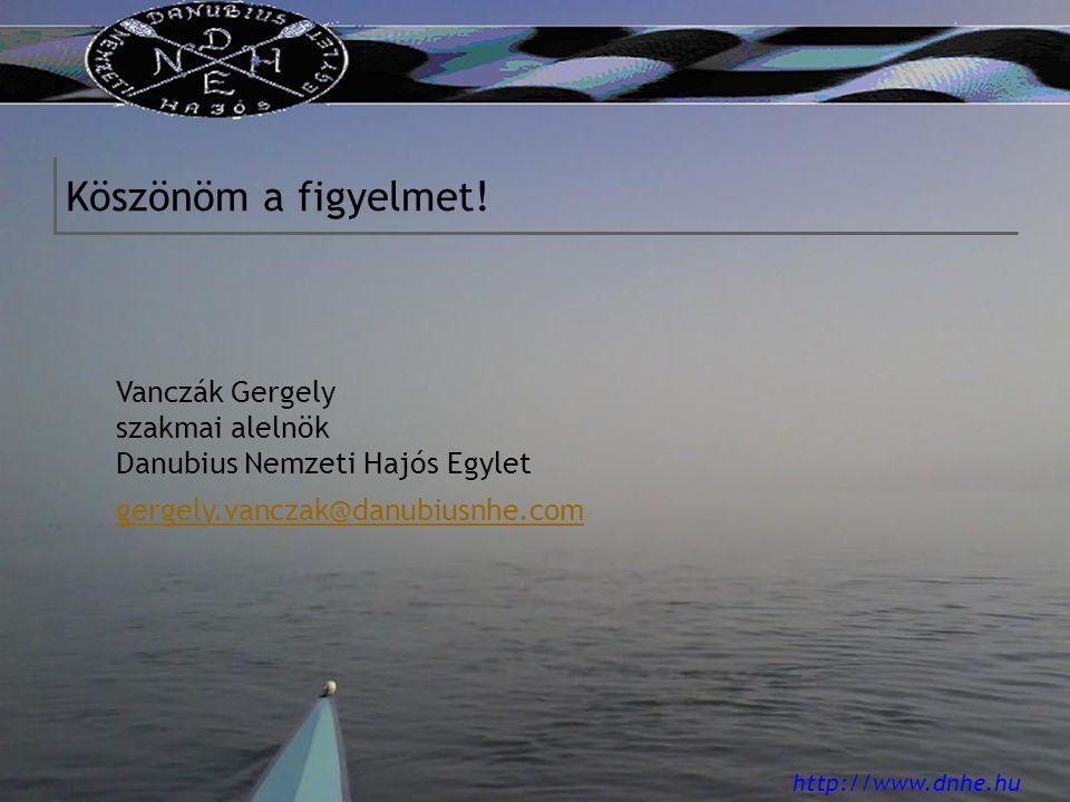 http://www.dnhe.hu Köszönöm a figyelmet.
