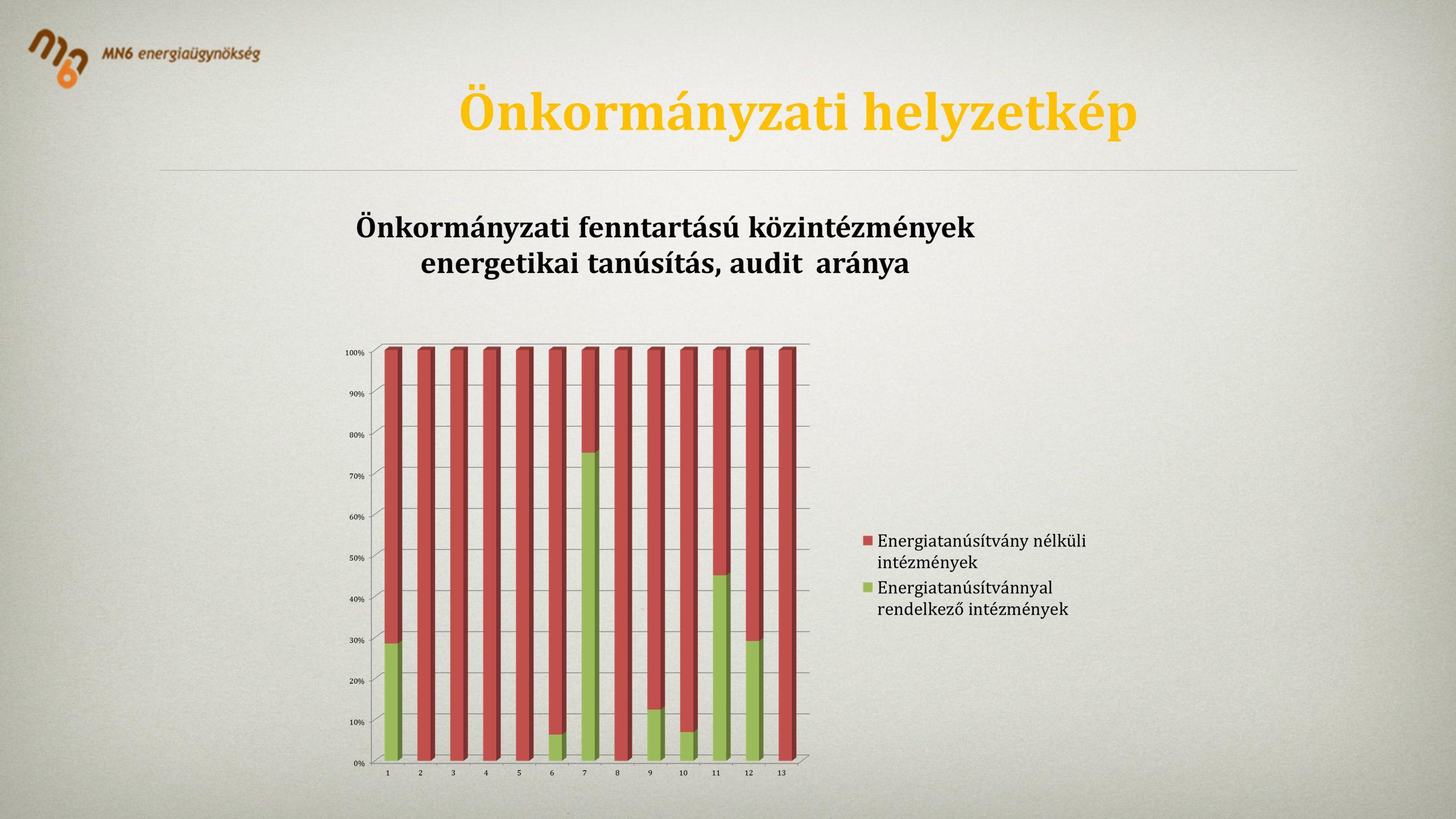 Önkormányzati helyzetkép