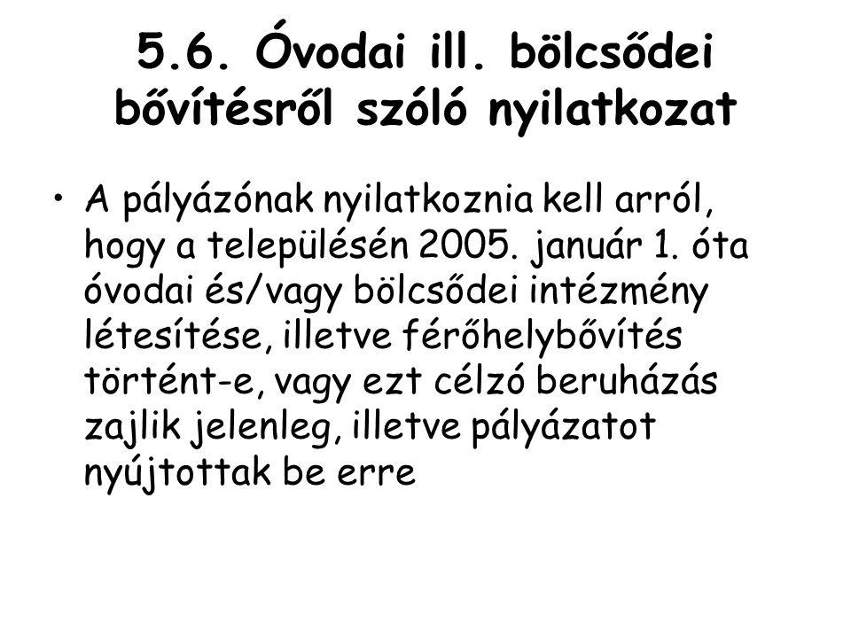 5.6.Óvodai ill.