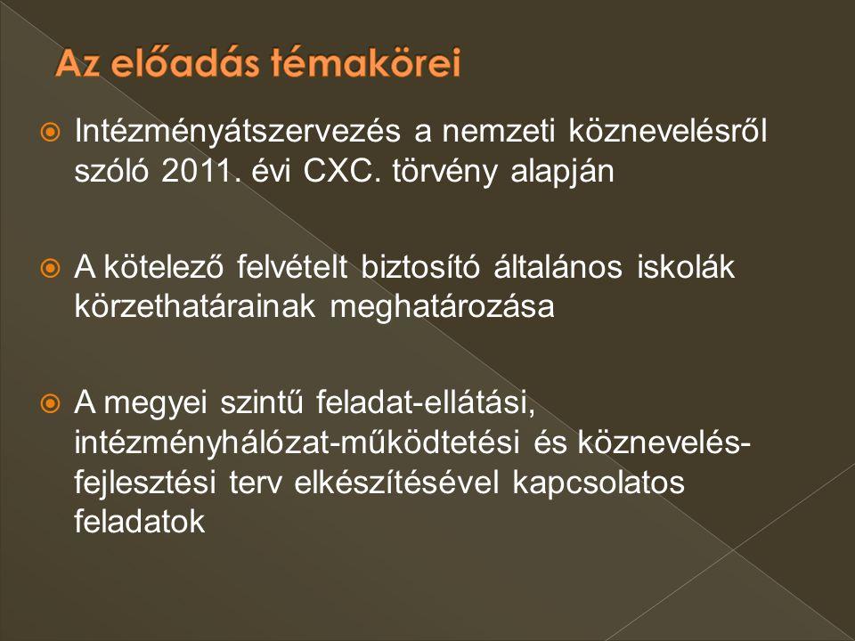 Nkt.50. § (7) bek. 20/2012. (VIII. 31.) EMMI rendelet 22.