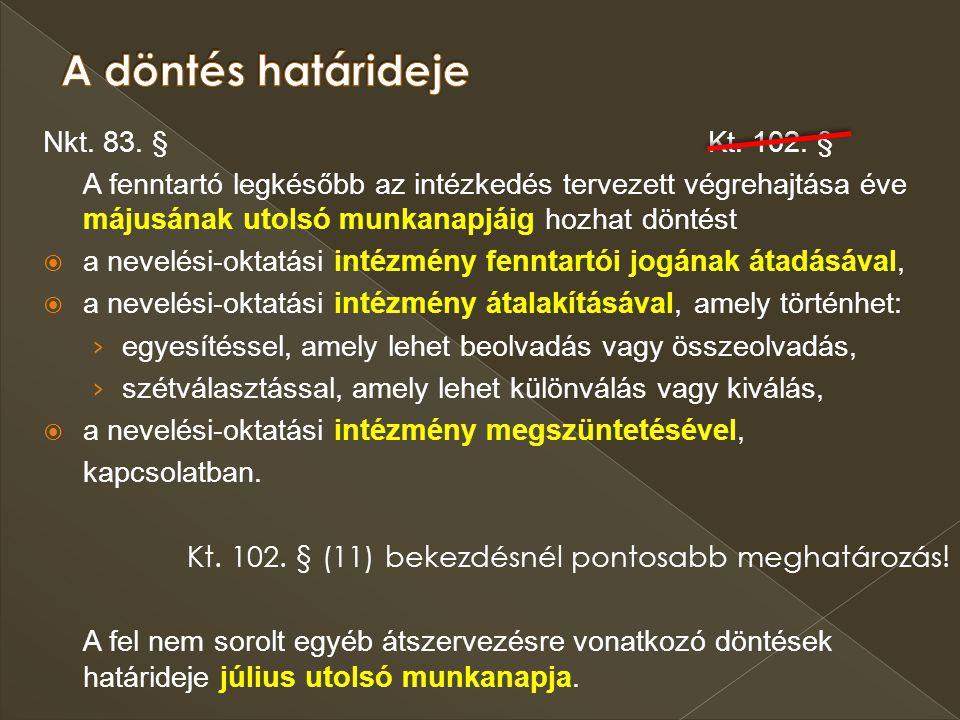229/2012.(VIII. 28.) Korm. rendelet 22. § (1) bek.