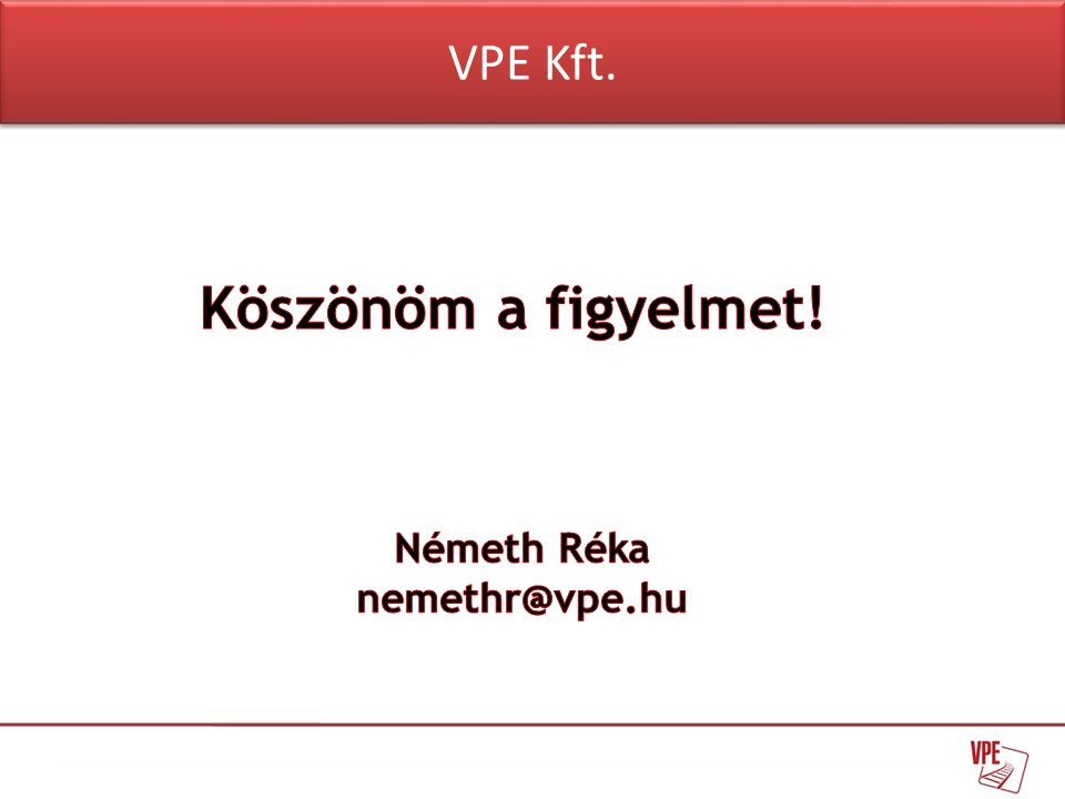 VPE Kft.