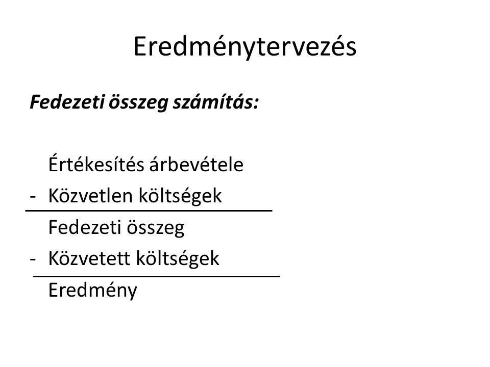 Szükséges információk II.