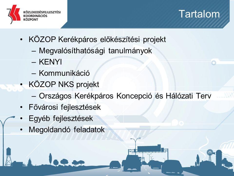 KÖZOP előkészítési projekt •Előzmény: 1364/2011.(XI.8.) Korm.