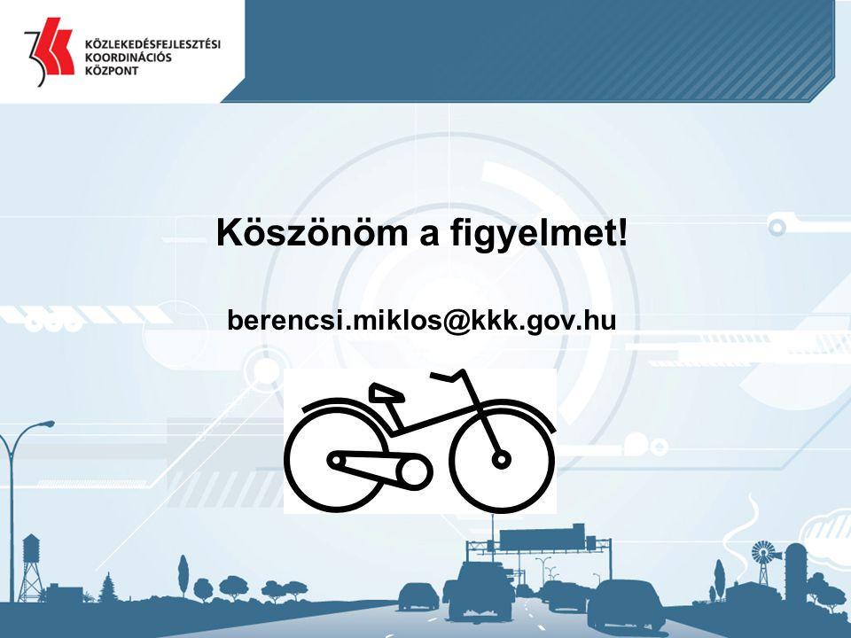 Köszönöm a figyelmet! berencsi.miklos@kkk.gov.hu