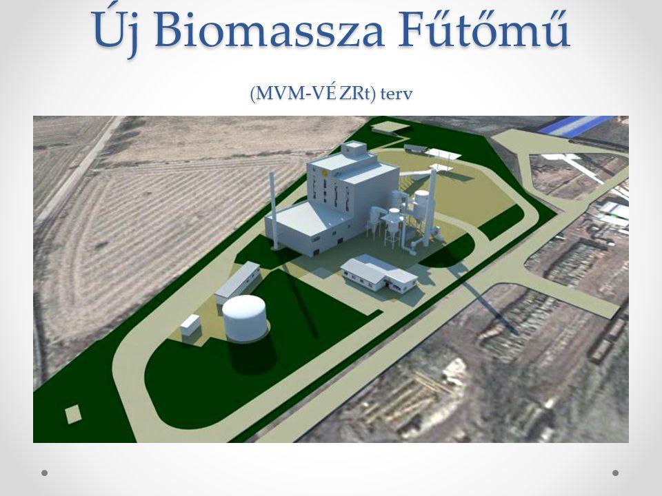 Új Biomassza Fűtőmű (MVM-VÉ ZRt) terv