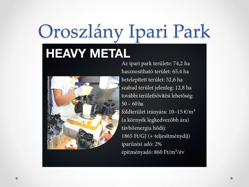 Oroszlány Ipari Park