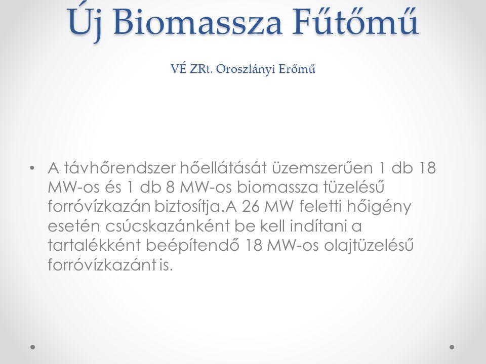 Új Biomassza Fűtőmű VÉ ZRt.