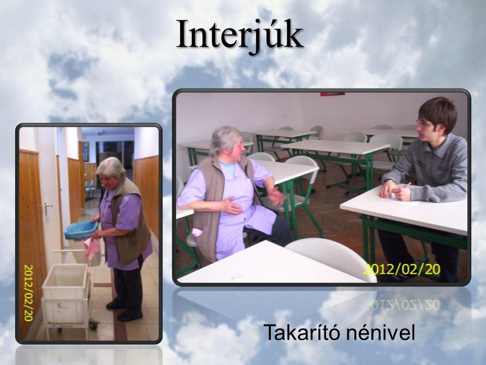 Interjúk Takarító nénivel