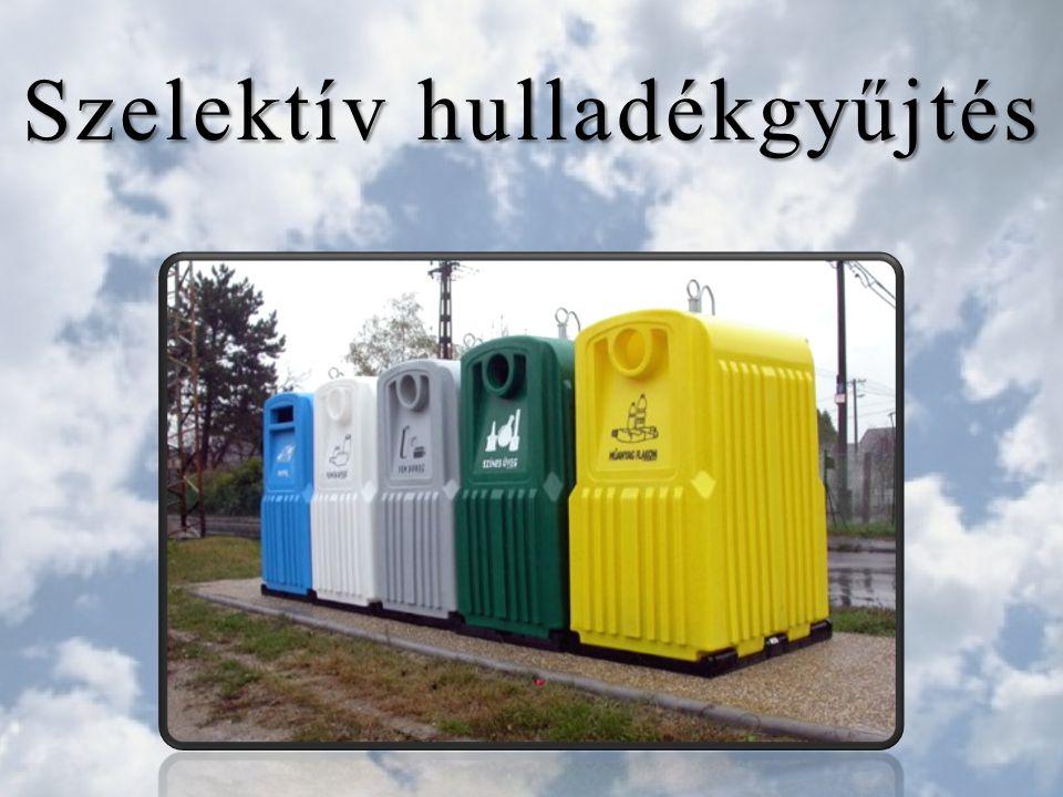 Kihasználatlan szelektív hulladékgyűjtők