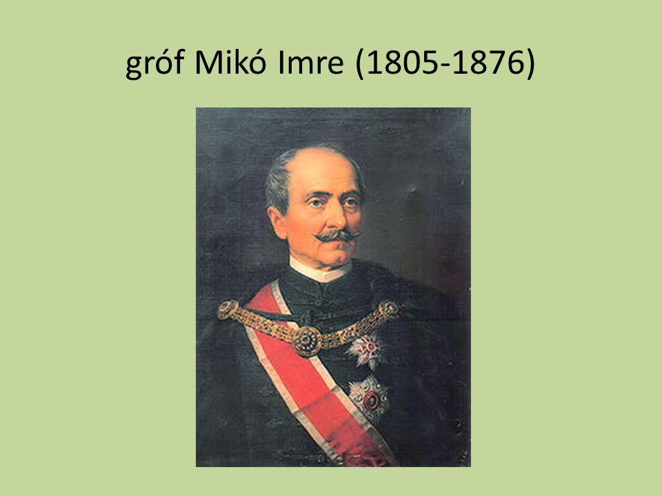 gróf Mikó Imre (1805-1876)
