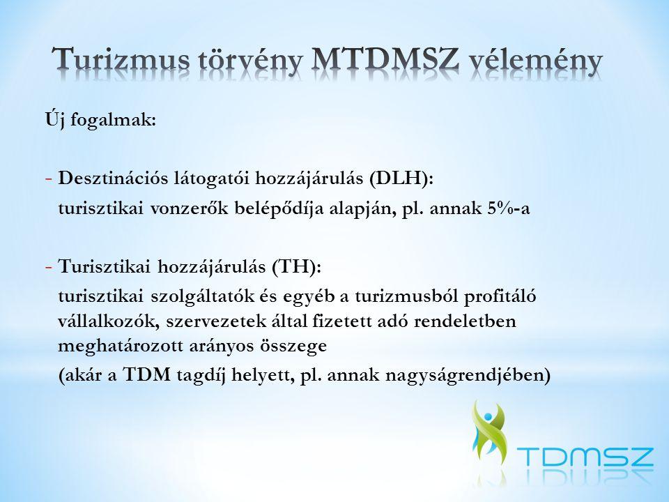 Nemzeti TDM szervezet - A nemzeti TDM feladatainak ellátása a nemzeti marketingszervezettől elkülönülő szervezetben történik, mely a turizmusért felelős miniszter irányítása alatt áll.