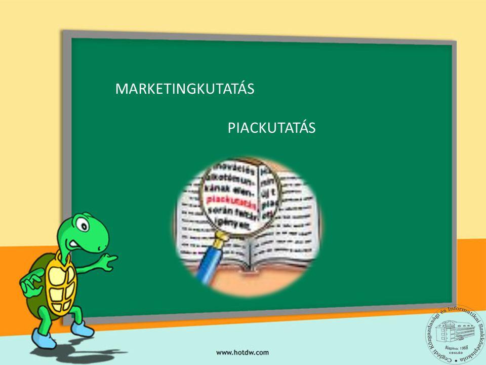 MARKETINGKUTATÁS PIACKUTATÁS