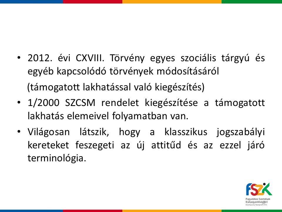 • 2012.évi CXVIII.
