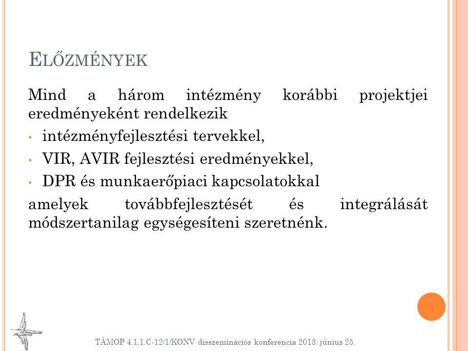 I NDIKÁTOROK Mutató neve Típus Mérték- egység Bázisérték 2013.